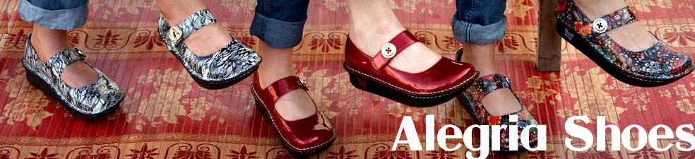 Women's Imperial Wine Alegria Classic Shoes 541546 - $72.80